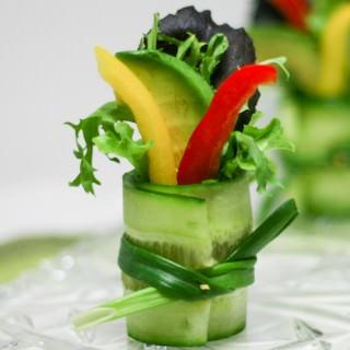 Cucumber Salad Bites