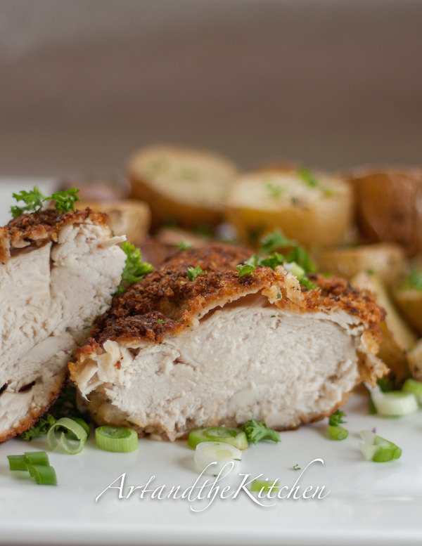 for panko crusted chicken will guarantee you moist tender chicken