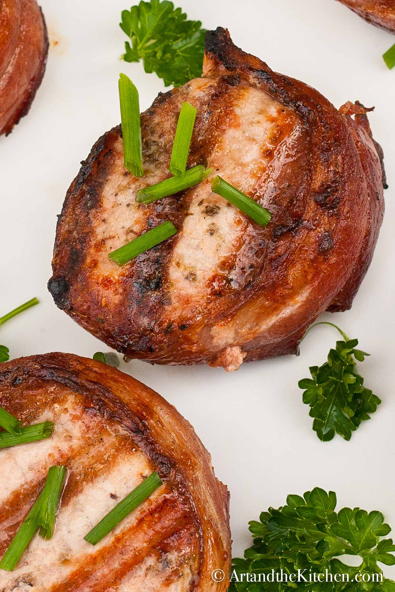 for Bacon Wrapped Pork Tenderloin Medallions makes tender juicy pork ...