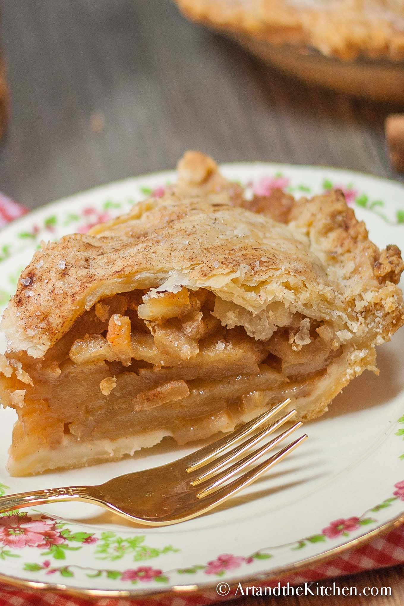 Grandmas Old Fashioned Apple Pie