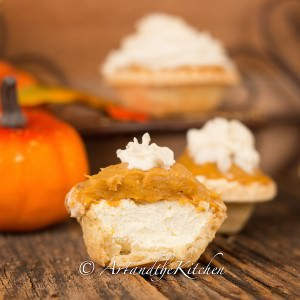 no bake pumpkin cheesecake tarts