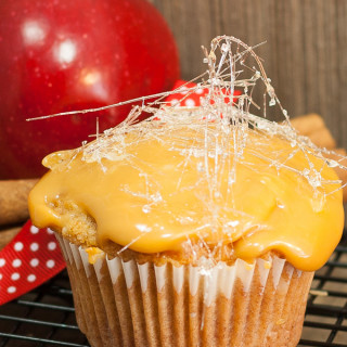Caramel Apple cupcakes 1