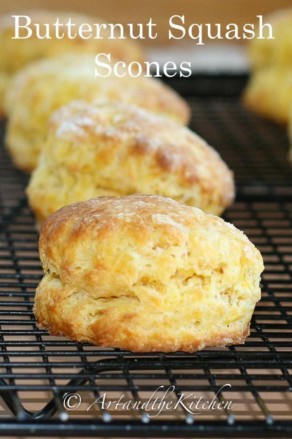 butternut squash scones