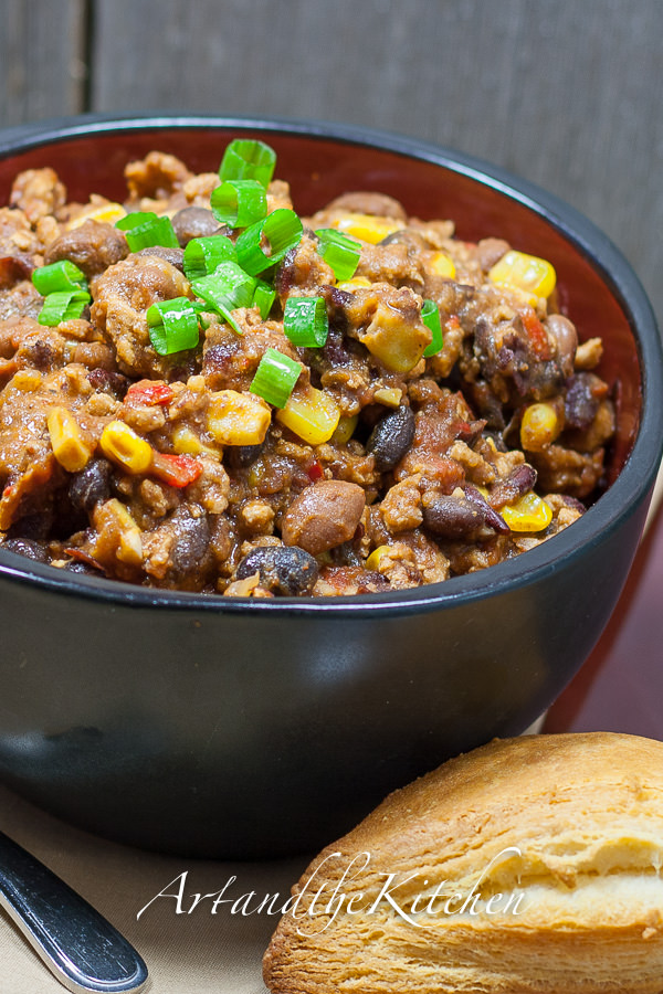 ... most recipes and tasted terrific in this recipe for Turkey Bean Chili