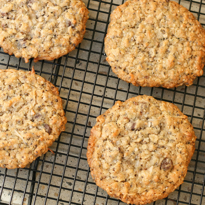 Gluten free Oatmeal cookies copy
