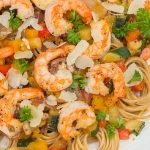 Pasta with Shrimp and Wine Sauce