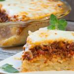 Baked Spaghetti Pie 1