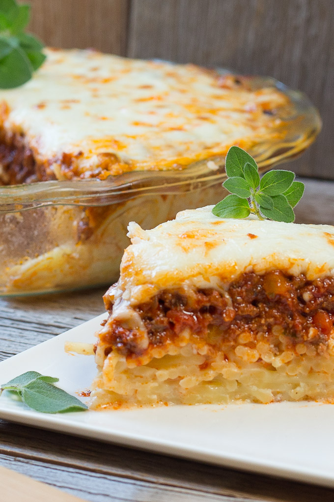 Baked Spaghetti Pie Art And The Kitchen