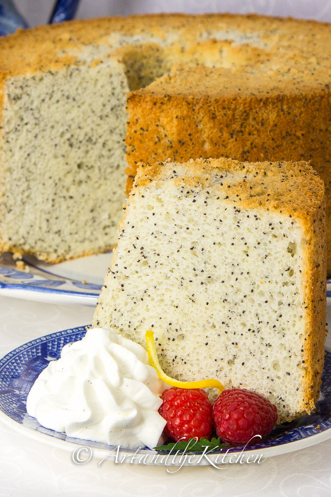 Chiffon Poppy Seed Cake-2