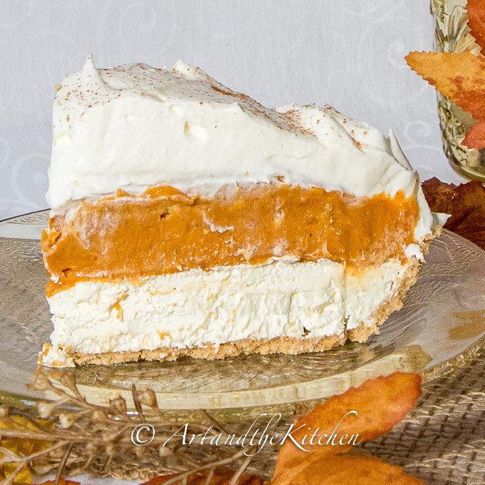 No-Bake Triple Layer Pumpkin Pie | Best Pie Recipes Ever: Perfect For Christmas And Special Holidays