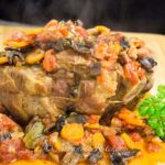 Roast Pork Tomato Mushroom Gravy