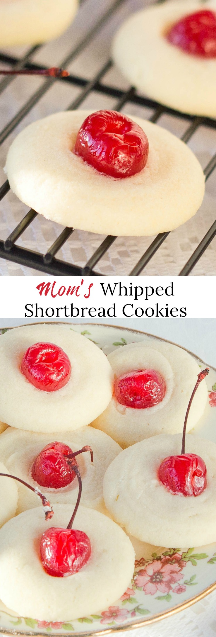 Mom's Whipped Shortbread Cookies