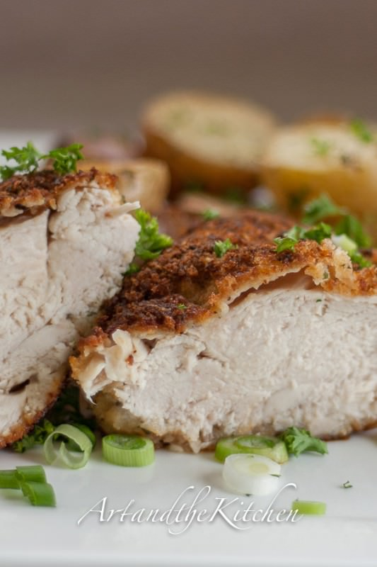 panko crusted chicken