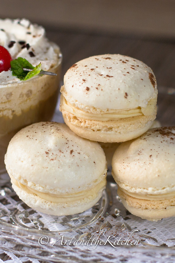 Baileys Irish Cream Macarons