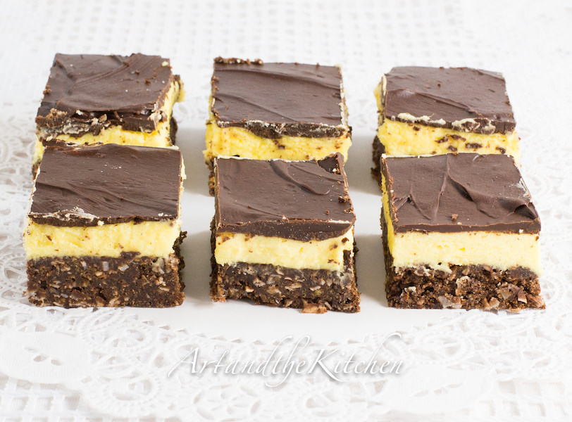 Triple Chocolate Nanaimo Bars Recipes — Dishmaps