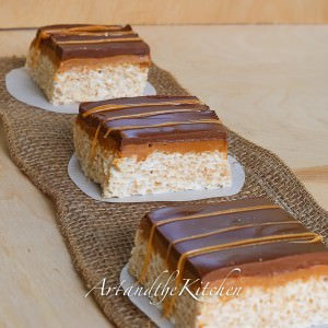 Chocolate Caramel Rice Krispies