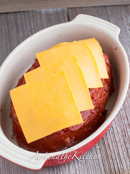 cheese covered meatloaf