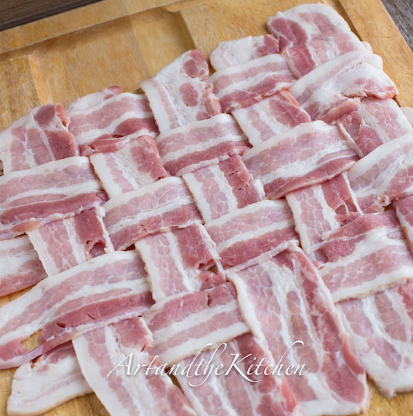 how to weave bacon
