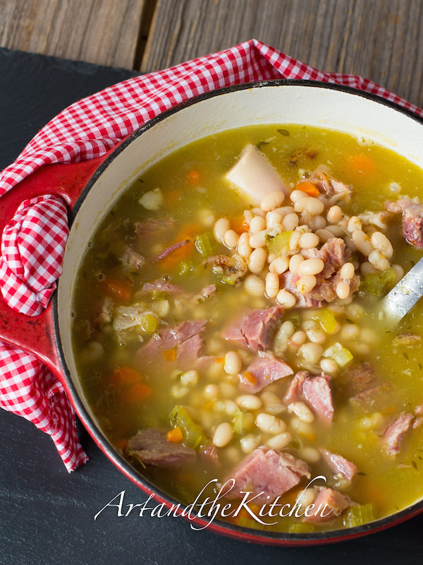 ham, because now you can make a savoury soup! Ham and Bean soup ...
