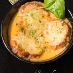 roasted garlic basil homemade tomato soup