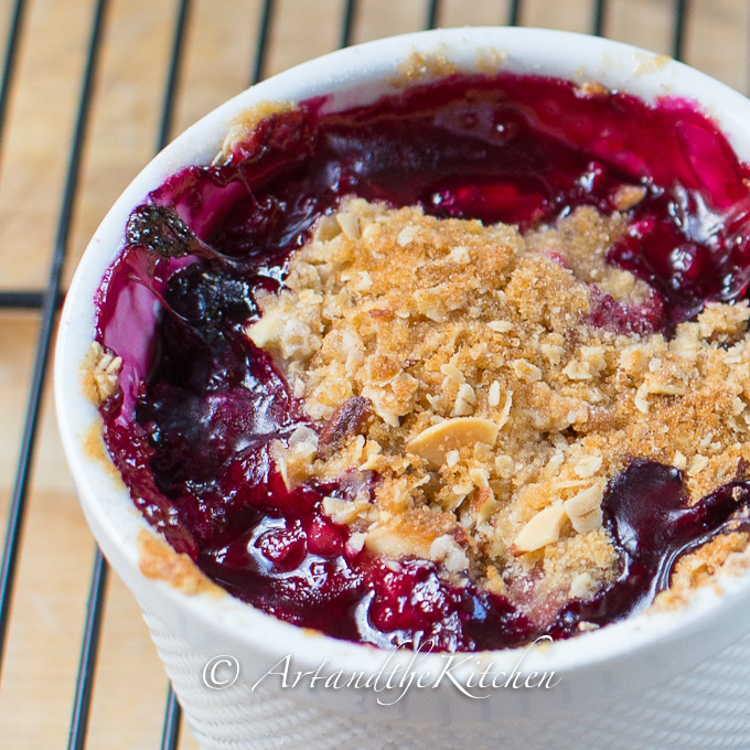 Triple Berry Crisp | Art and the Kitchen
