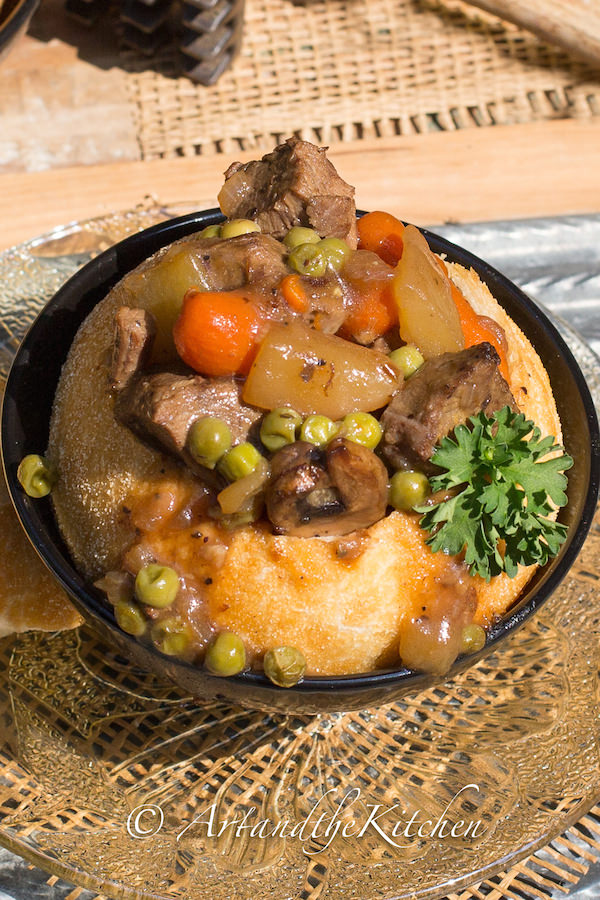 and easy beef stew uses left over roast beef, a great tasting stew ...