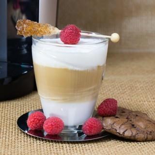 Raspberry Chocolate Truffle Latte