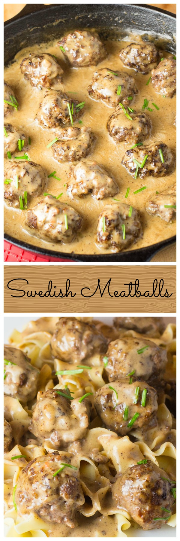 Amazing Swedish Meatballs recipe, even better than Ikea! Easy to make meatballs full of flavour, with the most amazing creamy gravy sauce. via @artandthekitch