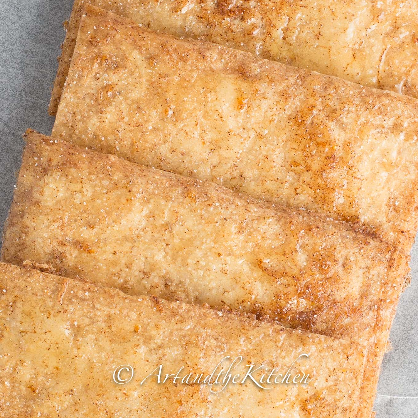 Honey Baked Crispy Phyllo Squares