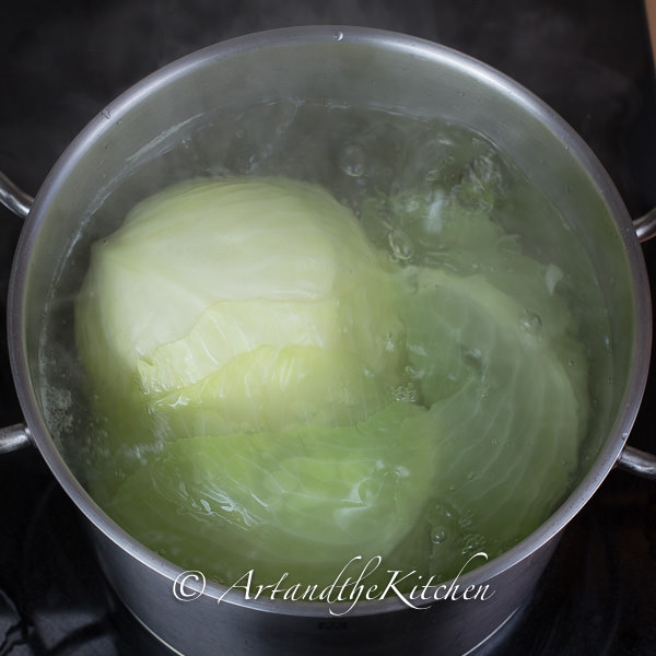 how to make turkey cabbage rolls