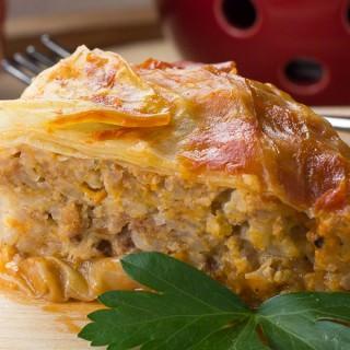 Turkey Cabbage Roll Casserole
