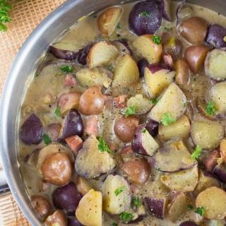 Potato and Ham Ragu