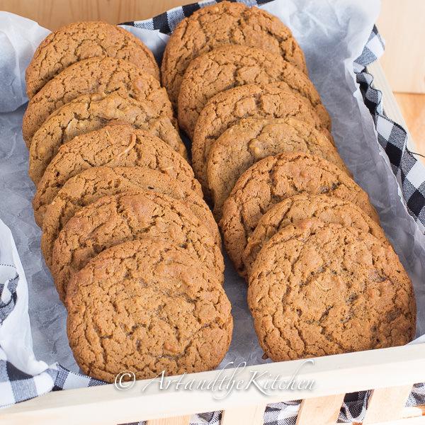 Fancy Molasses Coconut cookies