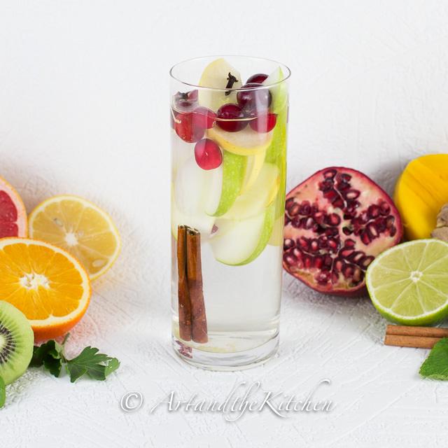 Apple Cinnamon Cranberry Water