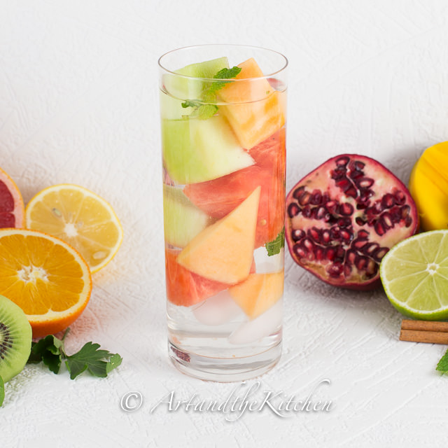 Melon Medley Water