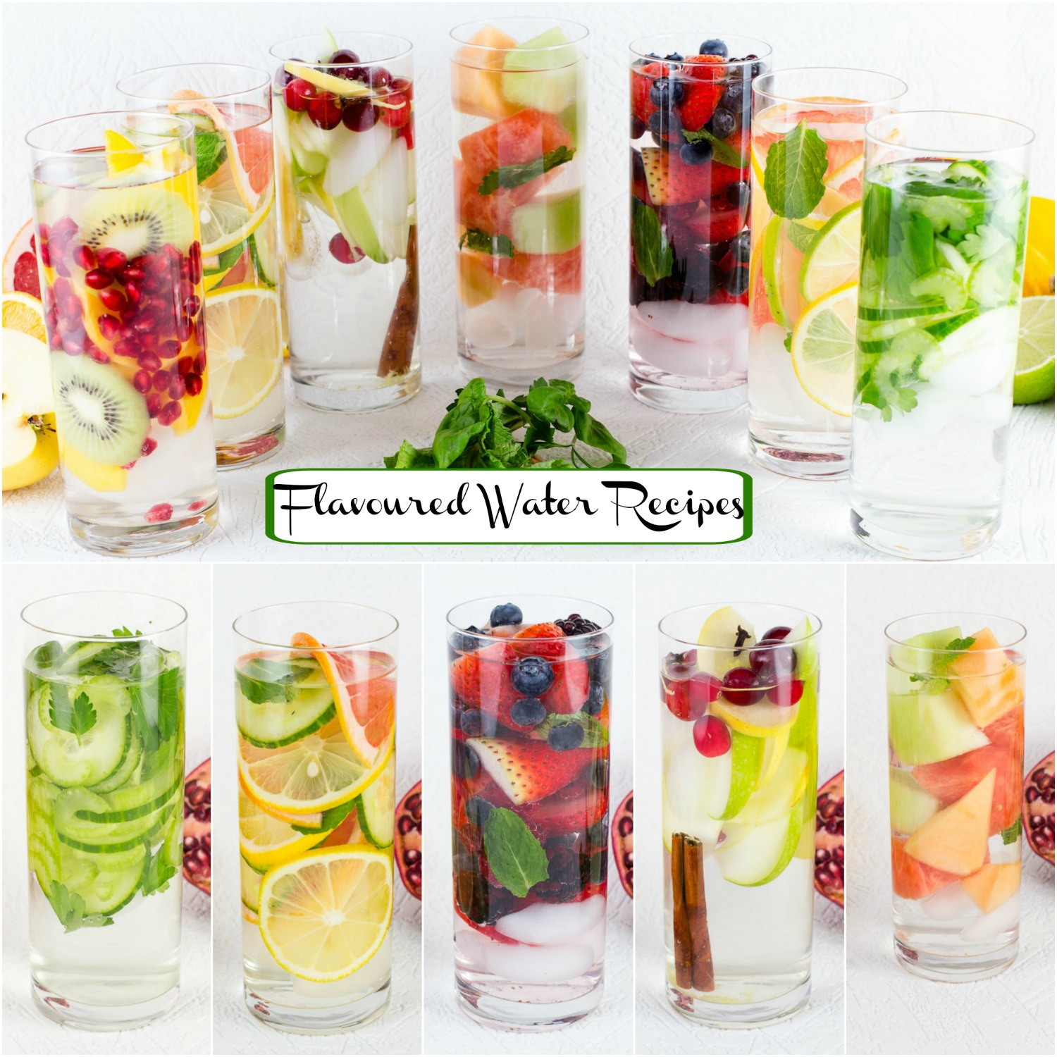 Diet Boost Flavored Water Recipes