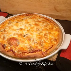 Honey Crust Pepperoni Pizza Art And The Kitchen