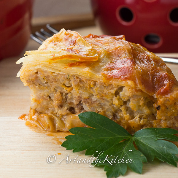 Turkey Cabbage Roll Casserole Art And The Kitchen