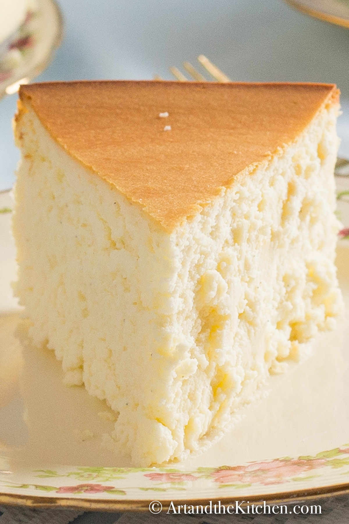 Tall And Creamy New York Cheesecake Art And The Kitchen