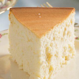 Tall and Creamy New York Cheesecake