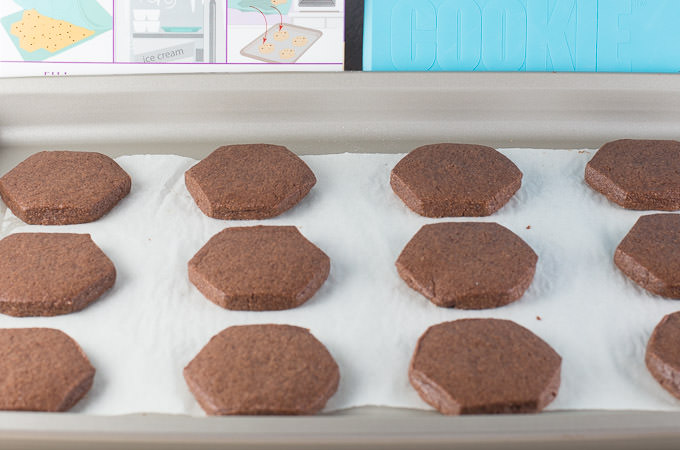 Chocolate Sugar Cookies with The Smart Cookie