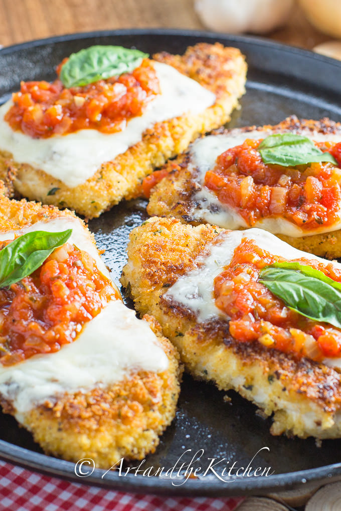 Chicken Parmesan | Art and the Kitchen
