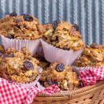 sour cherry fig whole wheat muffins 4