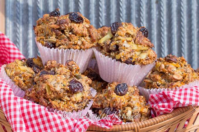 sour cherry fig whole wheat muffins 1