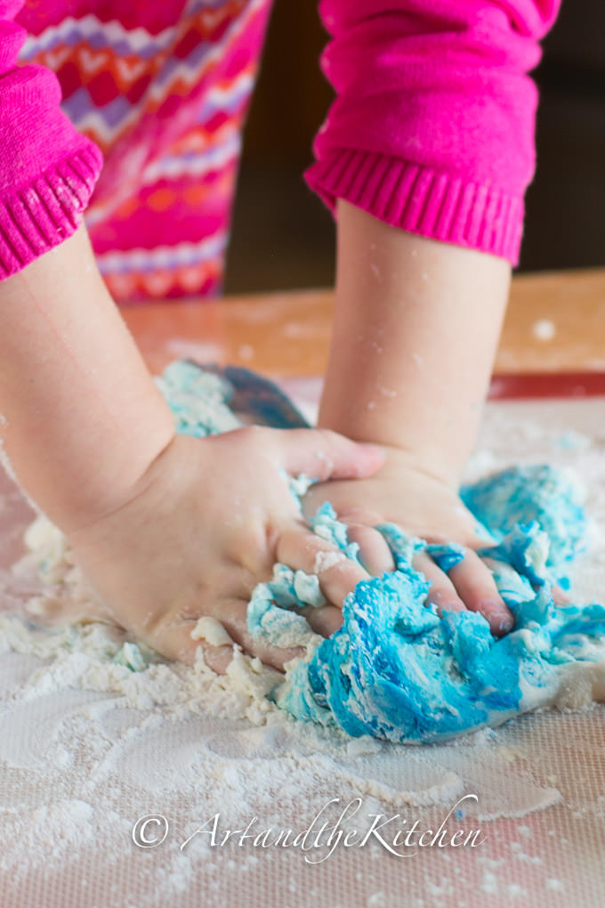 how to make best ever no cook playdough