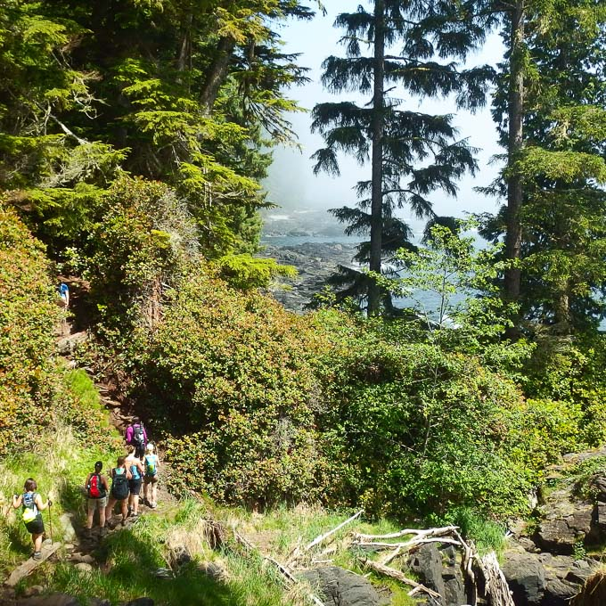 Mother Muckers juan de fuca trail