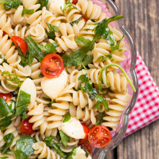 Tomato Bocconcini Pasta 1