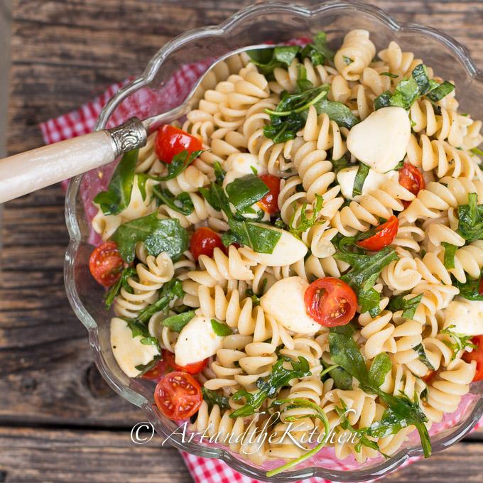 Tomato Bocconcini Pasta