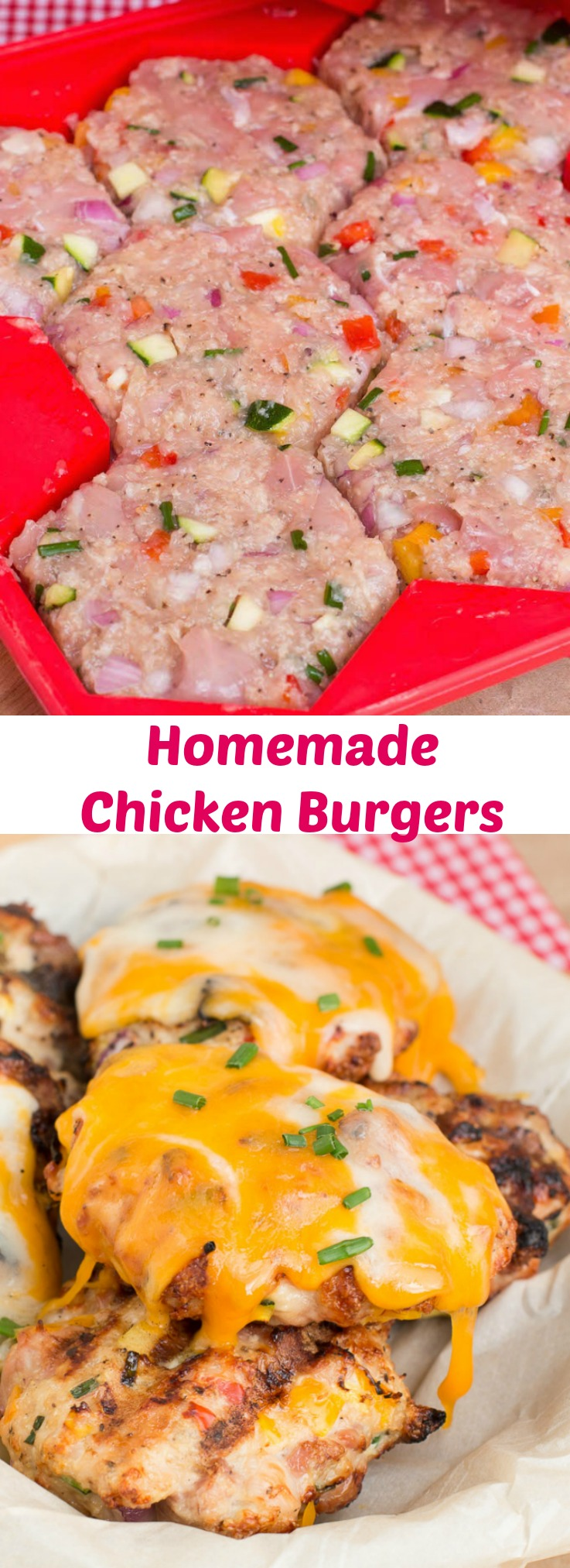 Homemade Chicken burgers