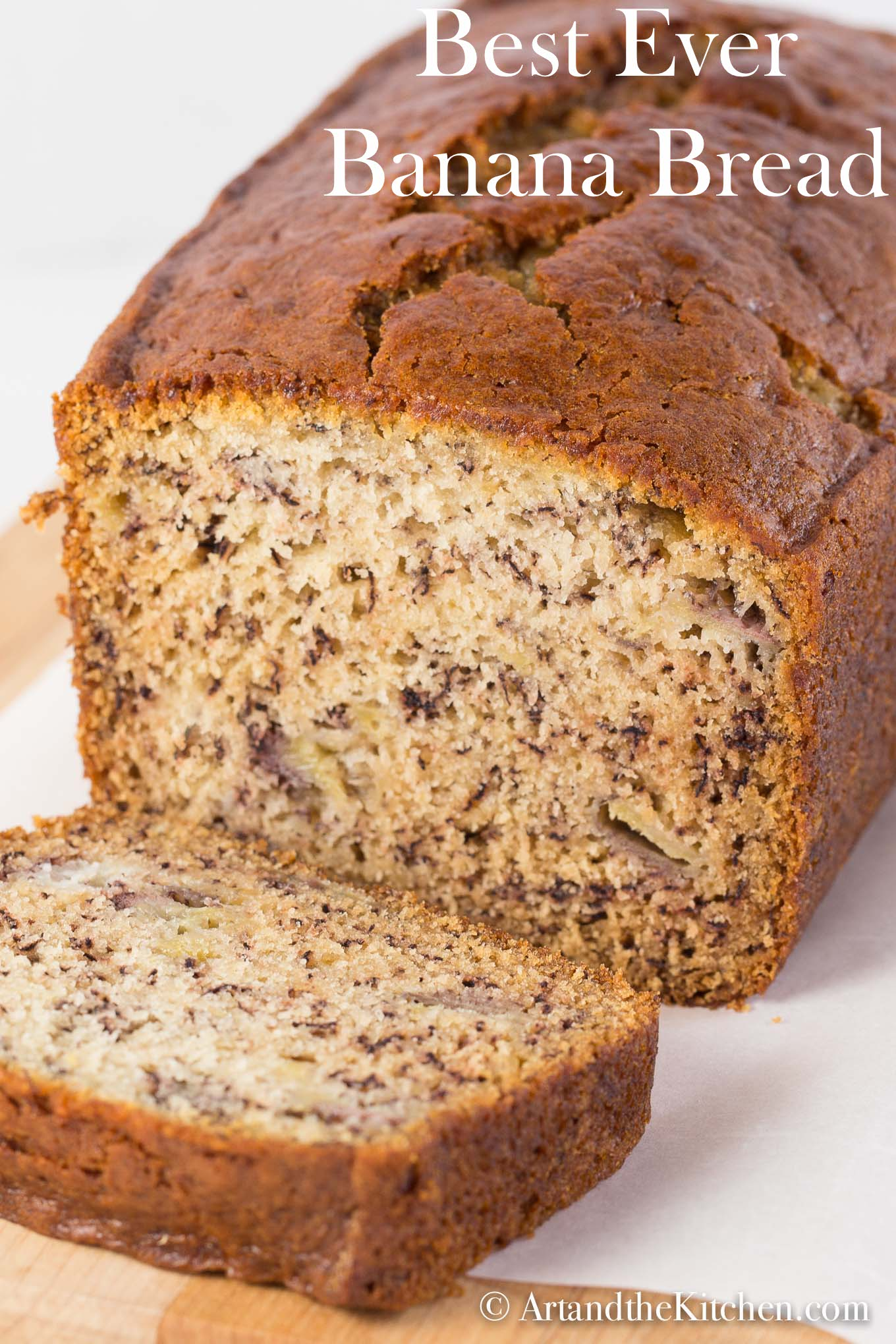 Moist and delicious loaded with banana flavour. This recipe for Best Banana Bread will not disappoint, so quick and easy to make.